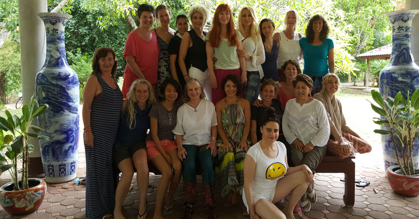 female healing tao garden